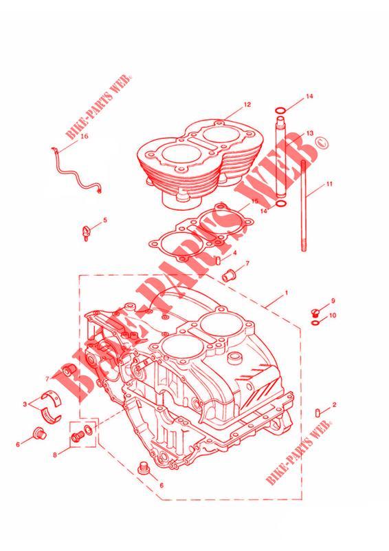 Engine Crankcase Diagram