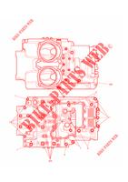 Crankcase, Engine Covers, Lubrication System # Crankcase Bolts