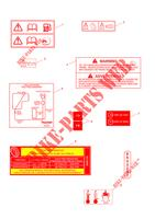 Service Tools, Literature & Touch Up Paint # Warning Labels